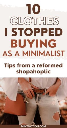 10 clothing items I stopped buying since becoming a minimalist. How I stopped buying clothes for my fantasy life and found my personal style. Does you wardrobe match your lifestyle? Follow these money-saving tips to help you build a capsule wardrobe and buy clothes aligned with your lifestyle. Life On A Budget, Paying Off Student Loans, Debt Free Living, Fantasy Life, Create A Budget, Frugal Living Tips, Lifestyle Clothing, Love Your Life, Money Saving Tips