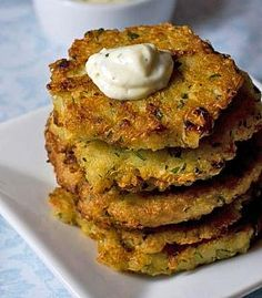 Quinoa Breakfast Fritters - Cooked quinoa is excellent in hot casseroles and soups, stews, in stir-fries, or cold in salads and is often substituted for rice.