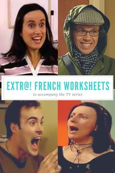 Worksheets to accompany all 13 episodes of the series Extr@! for French learners.
