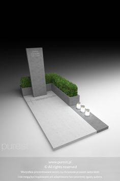 Modern tombstone with greenery, tombstone Warsaw, monument, g … – Miracles from Nature Cemetery Monuments, Cemetery Headstones, Cemetery Art, Tombstone Designs, Cemetery Decorations, Memorial Cards, Funeral Arrangements, 3d Pictures, Diy Home Crafts