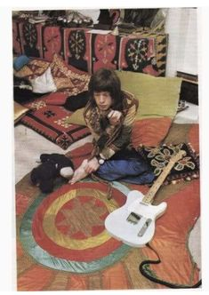 Rolling Stones   Mick Jagger in the Hippie Time