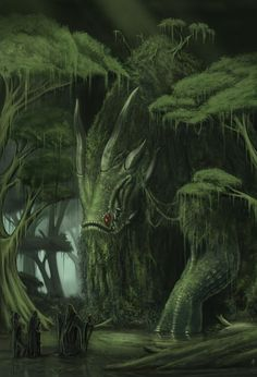 Swamp Dragon by ~rpowell77 on deviantArt