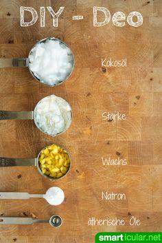 Finger weg von handelsüblichen Deo-Sticks! Mit diesem Rezept kannst du aus natürlichen Zutaten ein wirksames und hautfreundliches Deo selbst herstellen.
