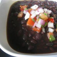 Spicy Slow Cooker Black Bean Soup Allrecipes.com