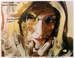 Roberta Construction Chart #2. Roberta Breitmore Series. 1975. The artist transformed herself into someone else.