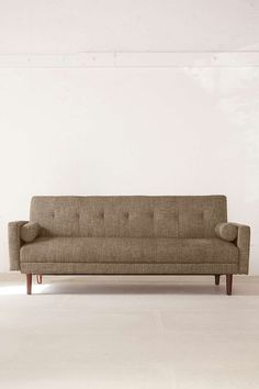 [Similar (same?) as in phone booth area.] Night and Day Convertible Sofa