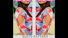 New Sleeves Pattern I कुर्ते की आस्तीन की डिज़ाइन ITahzeeb Ghori Kurti Sleeves Design, Sleeves Designs For Dresses, Kurti Neck Designs, Salwar Designs, Sleeve Designs, Dresses With Sleeves, Stylish Blouse Design, Fancy Blouse Designs, Cotton Long Dress