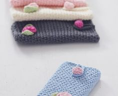 TOP 10 Free Crochet Patterns in Pretty Pastels