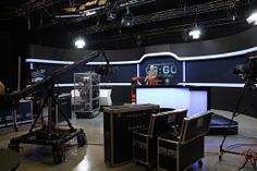The new eSports tv-studio in Sweden.