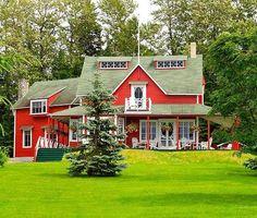Métis-sur-Mer Destinations, Belle Villa, Parc National, Discovery, Photos, Canada, Cabin, Mansions, Tour
