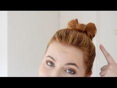 How to: een strik in je haar maken - YouTube