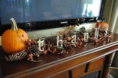 diy thanksgiving decor - Click image to find more Architecture Pinterest pins
