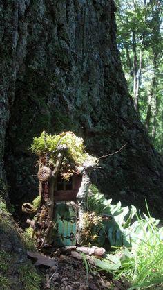 Tiny little Fairy house by CindiBee on Etsy