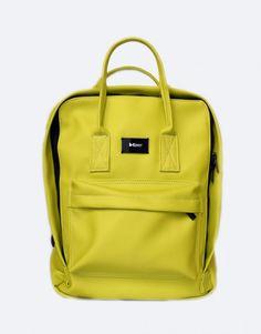 mochila verde pistacho Backpacks, Bags, Fashion, Shopping, Green, Handbags, Moda, Fashion Styles, Taschen