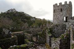 Adventures in Sintra, Portugal. Amazing Moorish castle.