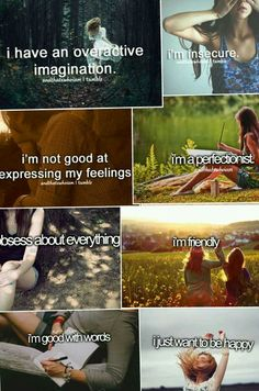 every thing is true but that im insecure and cant express my feelings if I want to I can but I am to shy Describe Me, Feeling Down, Get To Know Me, I Can Relate, How I Feel, Deep Thoughts, True Quotes, Science, Inspirational Quotes