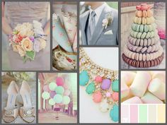 Pastel Wedding Ideas Trend Pastel Flowers Bridesmaids Dresses You Could Even Have Each Maid Pastel Wedding Theme, Wedding Themes, Wedding Colors, Wedding Ideas, Pastel Weddings, Spring Weddings, Wedding Decor, April Wedding, Fall Wedding