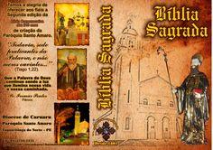 Capa comemorativa da Bíblia para paróquia de Taquaritinga do Norte - PE