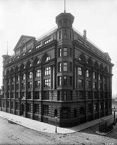 Tootal Broadhurst And Lee Warehouse, 56 Oxford Street, Manchester, Jun 1900 Altrincham, Rochdale, Salford, English Heritage, Old Images, Oxford Street, Bury, Urban Landscape, Athens