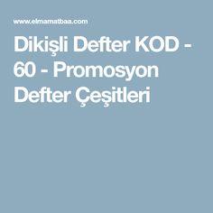Dikişli Defter KOD - 60 - Promosyon Defter Çeşitleri