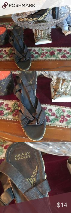 HILARY RADLEY Leather Heels/ 24 HOURS SALE Very soft lamb leather shoes in very good condition. NO OFFER HILARY RADLEY Shoes Heels