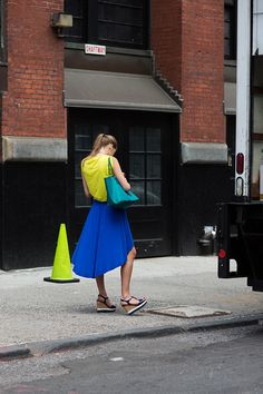 Image Via: The Sartorialist #Color
