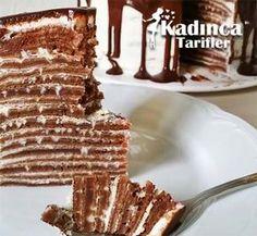 Fırınsız Krep Pasta Tarifi