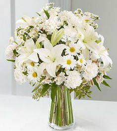 Find This Pin And More On Lily Weddings All White Flowers
