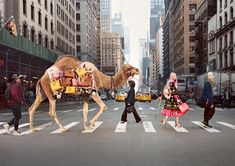 Kate Spade Spring 2017 Ad Campaign Features Fernanda Ly and a Camel
