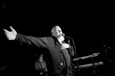 Albino rapper Brother Ali at Cafe Du Nord in San Francisco.  | Photograph by Darryl Kirchner | #BW