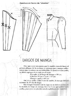 Altering a sleeve pattern to a flutter sleeve Techniques Couture, Sewing Techniques, Easy Sewing Patterns, Clothing Patterns, Pattern Drafting Tutorials, Textile Manipulation, Sewing Collars, Sewing Sleeves, Pattern Draping
