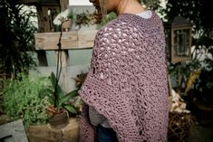 The Blooming Petals Poncho, designed by Lorene Eppolite of Cre8tion Crochet, is a fun and lacy design that comes in 3 sizes. This lace crochet poncho has a great drape and is perfect for all seasons. Crochet Poncho Patterns, Crochet Shawls And Wraps, Crochet Scarves, Crochet Clothes, Yarn Crafts, Free Crochet, Crochet Tops, Knit Crochet, Crochet Projects