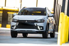 Mitsubishi Outlander Sport Facelift Revealed Ahead Of New York Auto Show Debut Mitsubishi Motors, Carros Mitsubishi, Mitsubishi Pajero, Suv Cars, Sport Cars, Car Images, Car Photos, Mitsubishi Outlander Gt, Wallpapers