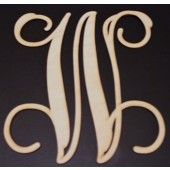 This site has small to large wood or metal lettering for wreaths and anything else you can imagine.  Inexpensive is well.
