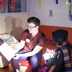 """""""childrensla Huge thanks to for being our guest reader during Stories Under the Stars! And for bringing along his book series, The Land of Stories! Chris Colfer Books, Blaine And Kurt, Lightning Strikes, Darren Criss, Book Signing, Under The Stars, Glee, Book Series, Celebrity Crush"""