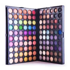 Ingredient:Mineral Color:120 Full Colors Size:25cm x 17cm x 5cm Quantity:1 Set NET WT:402 g Type:Eye Shadow Please allow 2-3 weeks for the product to arrive.
