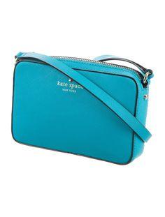 Mikas Pond Clover Bag Logo Stamp, Designer Handbags, Pond, Shoulder Strap, Coin Purse, Kate Spade, Crossbody Bag, Teal, Wallet