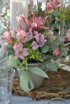 English country garden party decorations