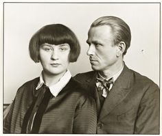'The Painter Otto Dix and his Wife Martha', August Sander, c.1925-6, printed 1991 | Tate