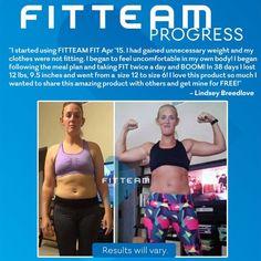 Facebook.com/FitTeamEnjoyLife  www.fitteam.com/enjoylife   Let me help you!
