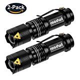 Review for [2 PACK] Roadwi Mini Taschenlampe, Zoomable LED Taschenlampe, 3 Leuchtmodi, IP44... - Alexander Kurtz  - Blog Booster