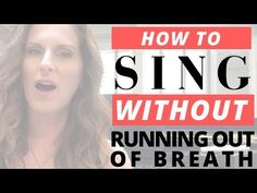 Understand WHY you're running out of breath when singing a long phrase and what you can do to fix it. Then here's a no-brainer fo. Vocal Lessons, Singing Lessons, Singing Tips, Guitar Lessons, Art Lessons, Music Lessons, The Greatest Showman, Margaret Atwood, Songs To Sing
