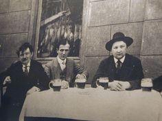Jaroslav Hasek in the pub