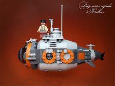 #LEGO #Steampunk submarine.