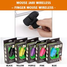 Mouse Jari Wireless – Finger Mouse Wireless 125.000