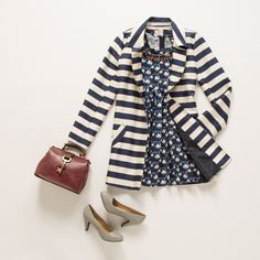 Stripes and swans never looked so sweet!