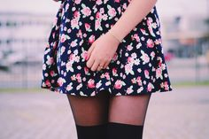 Floral Dress http://omundodejess.com/2015/06/short-hair-dont-care/
