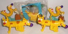 1999 Burger King Cat Dog Toys- Loose and New #Nickelodeon
