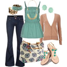 Daily Clothes 2012 | Green Top | Fashionista Trends