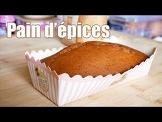 Pain d'épices facile et rapide - Noël 🎄 - YouTube Cake Pops, Muffins, Cupcakes, Breakfast, Brioche, Pastries, Pies, Fiesta Kitchen, Food